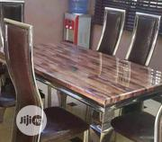 This Is Brand New Quality Six Seaters Dining Table It Is Very Strong | Furniture for sale in Enugu State, Enugu
