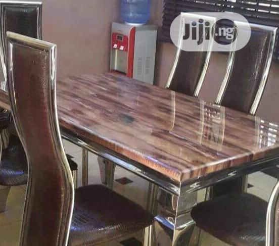 This Is Brand New Quality Six Seaters Dining Table It Is Very Strong