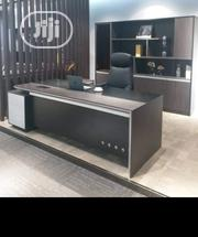 Complete Set Of 2.8M Office Table Including 2.4m Bookshelf | Furniture for sale in Lagos State, Lekki Phase 1