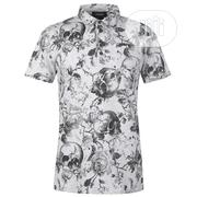 Firetrap Printed Polo Shirt | Clothing for sale in Lagos State, Ojodu