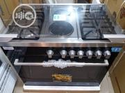 Best Quality 4burners Gas Cooker With Oven Grill | Kitchen Appliances for sale in Lagos State, Ikoyi