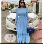 New Female Quality Turkey Blue Long Sleeve Gown | Clothing for sale in Lagos State, Lagos Island