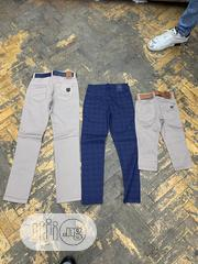 Cream Color Jeans And Blue Jeans | Children's Clothing for sale in Lagos State, Ajah