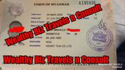 1000%Sure 🇲🇲Myanmar Visa🇲🇲 (Asia)   Travel Agents & Tours for sale in Lagos State