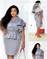 New Female Silver Turkey Dress | Clothing for sale in Lagos State, Amuwo-Odofin