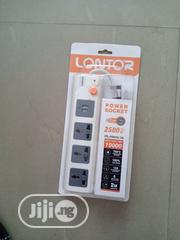 Lontor Power Socket With Usb Ports | Electrical Tools for sale in Lagos State, Lekki Phase 1