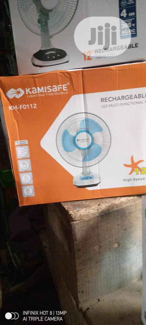 Kamisafe Rechargeable Table Fan 12 Inch