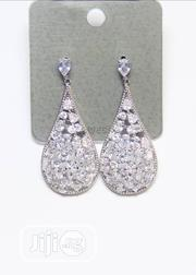 Ladies Zirconia Earring Silver | Jewelry for sale in Lagos State, Ikeja