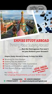 Work and Study Abroad in Russia.   Travel Agents & Tours for sale in Lagos State, Ikeja