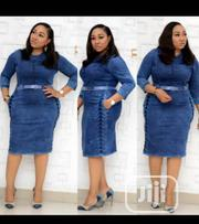 Quality Turkish Casual Jean Gown | Clothing for sale in Lagos State, Amuwo-Odofin