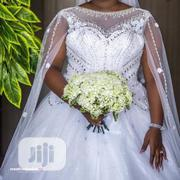 Wedding Gown for Rent With Veil, Basket, Tiara Bouquet | Wedding Wear for sale in Lagos State, Magodo