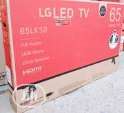 """LG 65""""Inch LED Fhd TV With Energy Saving Super Flat + 2 Years 