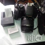 Canon EOS 600D W\Ith 2 Battery Uk Used Camera   Photo & Video Cameras for sale in Lagos State, Ikeja