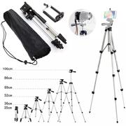 3110 Aluminum Professional Telescopic Tripod Monopod | Accessories & Supplies for Electronics for sale in Lagos State, Ikeja