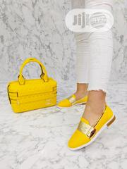 Turkey Shoe And Bag Yellow | Shoes for sale in Lagos State, Isolo