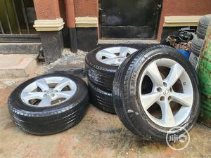 4 Lexus Alloy Rims With Michelin Tires Up for Sale.