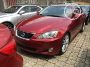 Lexus IS 2007 250 AWD Red   Cars for sale in Lagos State, Ikeja