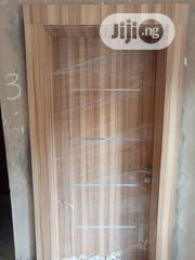 Solid Doors With Chrome Lines On Face & Aluminium Plated Backside | Doors for sale in Lagos State