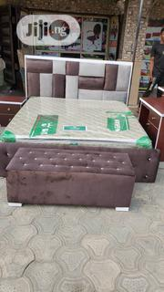 Imported 6 X 6 Bedframe With Foreign Mattress | Furniture for sale in Lagos State, Ojo