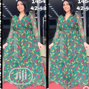 Floral Flowing Long Dress Turkish | Clothing for sale in Lagos State, Isolo