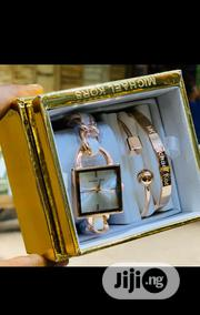 Michael Kors Female Rose Gold Wristwatch & Bracelets | Jewelry for sale in Lagos State, Surulere