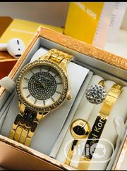 Michael Kors Female Gold Wristwatch Bracelet | Jewelry for sale in Lagos State, Surulere