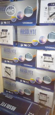 200ahs/12volt Absolyte Inverter Battery | Electrical Equipment for sale in Lagos State, Ojo