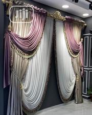 Highly Graded Quality Curtain Design With Swagg Shap | Home Accessories for sale in Lagos State, Ojo