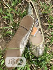 Perfect Trendy Golden Ballet Flats | Shoes for sale in Lagos State, Lagos Island