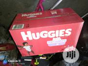 Now Available US Huggies Little Movers Diapers | Baby & Child Care for sale in Lagos State, Surulere