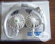 Mini Rechargeable Neck Band Dual Fan | Home Appliances for sale in Lagos State, Mushin