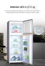 Skyrun 187-litres Double Door Top Mount Fridge BCD-187A-INOX | Kitchen Appliances for sale in Abuja (FCT) State, Wuse