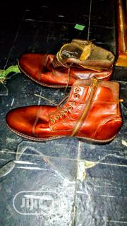 Franco Fortini Superior Brown Leather Men's Boot | Shoes for sale in Lagos State, Ikeja