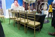 Gold Chiavari Chairs For Rent | Party, Catering & Event Services for sale in Lagos State, Surulere