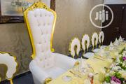 Single Bridal Chair For Rent At Classicus Rentals | Party, Catering & Event Services for sale in Lagos State, Surulere