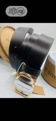 Salvatore Ferraganmo Pure Leather Belt Original | Clothing Accessories for sale in Lagos State, Surulere