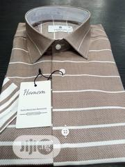 HOMEM Cutton Short Sleeves Shirts Made in Turkey | Clothing for sale in Lagos State, Lagos Island