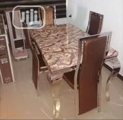 Affordable Marble Dining Table With Four Chairs | Furniture for sale in Lagos State, Gbagada