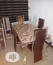 Imported Brand New Marble Dining Table With Four Chairs | Furniture for sale in Lagos State, Lekki Phase 2