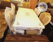 Wooden Dining By 6 Seaters | Furniture for sale in Lagos State, Ajah