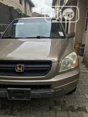 Honda Pilot 2004 LX 4x4 (3.5L 6cyl 5A) Brown   Cars for sale in Lagos State, Magodo