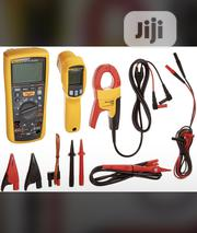 Fluke 1587 With Clamp And 62max Thermometer | Measuring & Layout Tools for sale in Lagos State, Ojo