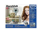 """Duravolt 16"""" Rechargeable Fan With Remote 
