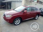 Lexus RX 2012 350 FWD Red   Cars for sale in Lagos State