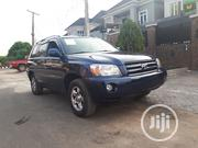 Toyota Highlander 2004 Limited V6 4x4 Blue   Cars for sale in Lagos State, Agege