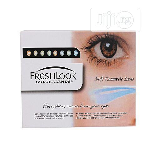 Fresh Look Colorblends Contact Lens Complete (All-in-one)- Honey