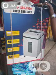 Sanyo Paper Shredder SBS-650CI | Stationery for sale in Lagos State, Ikeja