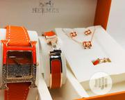 Hermes Fashion Wrist Watch and Bracelet | Jewelry for sale in Lagos State, Surulere