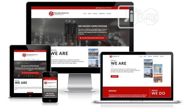 Professional Website Design and Development Servives