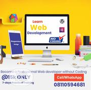 Learn Web Development Without Coding | Computer & IT Services for sale in Lagos State, Ibeju